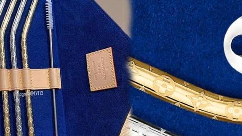 Chơi trội với bông tai chưa đủ, Louis Vuitton ra tiếp set ống hút 30 triệu đồng đầy sang chảnh