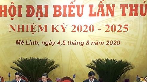 Đại hội đại biểu Đảng bộ huyện Mê Linh tiến hành phiên trù bị