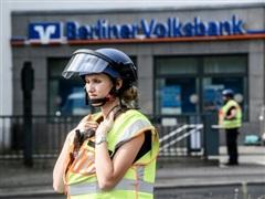 Đức: Cướp xe chở tiền của ngân hàng tại trung tâm Berlin