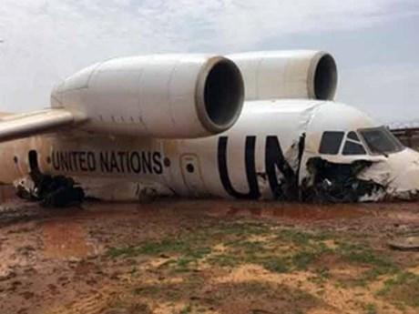 Máy bay của Liên hợp quốc gặp sự cố ở Mali, 11 người bị thương