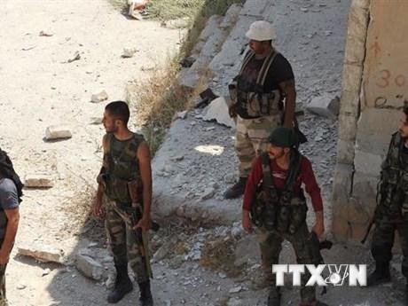 Không quân Syria phá hủy nhiều kho vũ khí lớn của khủng bố