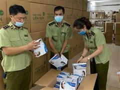 Hà Nội tạm giữ 500.000 khẩu trang y tế có dấu hiệu không đạt chuẩn