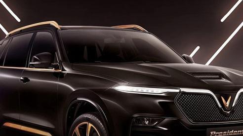 VinFast President lộ diện: SUV hiệu năng cao đầu tay của người Việt, giá dự kiến không rẻ, tham vọng đấu Lexus LX570