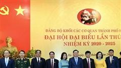 Đảng bộ Khối các cơ quan thành phố Hà Nội phải là đảng bộ tiêu biểu, gương mẫu, đi đầu