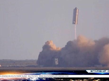 SpaceX phóng thử thành công nguyên mẫu tên lửa đưa người lên sao Hỏa