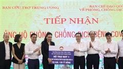 Trao tặng 500 máy thở MV20 cho Mặt trận Tổ quốc Việt Nam và Bộ Y tế