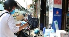 Hàng ngàn điểm bán khẩu trang tại TP Hồ Chí Minh