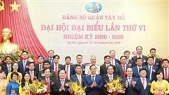 Đồng chí Đỗ Anh Tuấn được bầu làm Bí thư Quận ủy Tây Hồ