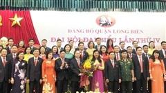 Đồng chí Đường Hoài Nam được bầu làm Bí thư Quận ủy Long Biên