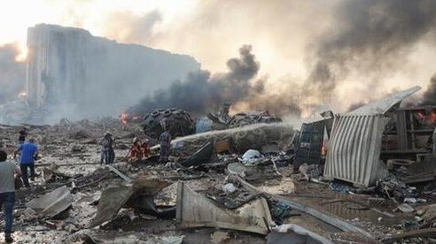 Có công dân Việt Nam bị thương trong vụ nổ kinh hoàng ở Lebanon