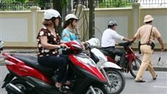Từ năm 2020, lỗi xe máy không gương bị phạt bao nhiêu tiền?