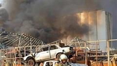 Vụ nổ tại Lebanon, chiến dịch cứu hộ cứu nạn vẫn đang được tiến hành