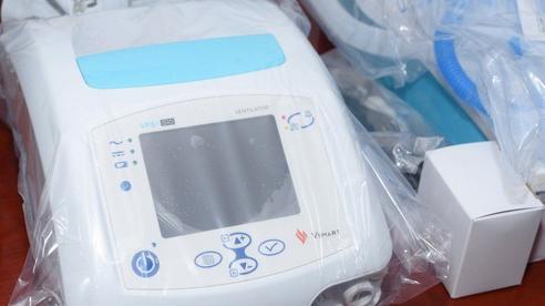 Ngành Y tế Quảng Nam được tặng 08 máy thở hỗ trợ công tác điều trị bệnh nhân Covid-19