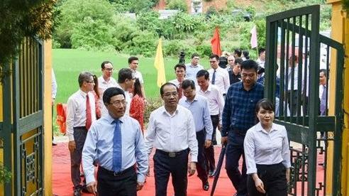 Phó Thủ tướng Phạm Bình Minh dẫn đầu đoàn Bộ Ngoại giao về nguồn tại Tuyên Quang
