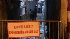 Phong tỏa tạm thời khu vực sinh sống của ca nghi nhiễm Covid-19 tại quận Bắc Từ Liêm