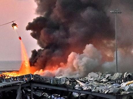 Vụ nổ ở Beirut có sức công phá tương đương hàng trăm tấn TNT
