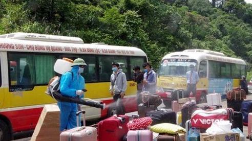 Đi từ vùng dịch về không khai báo, người phụ nữ ở Hà Tĩnh bị xử phạt