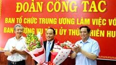Trao quyết định chuẩn y chức danh Phó Bí thư Tỉnh ủy Thừa Thiên Huế