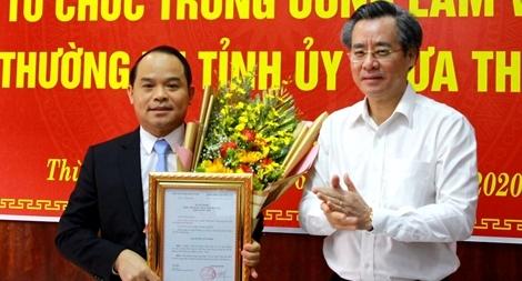Chuẩn y Đại tá Nguyễn Quốc Đoàn giữ chức Phó Bí tỉnh uỷ Thừa Thiên Huế