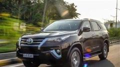 Giá xe ôtô hôm nay 6/8: Toyota Fortuner dao động từ 1,033 - 1,354 tỷ đồng
