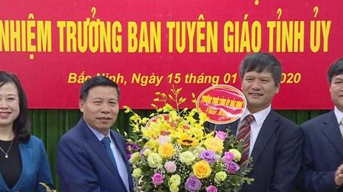 Trưởng Ban Tuyên giáo Tỉnh ủy Bắc Ninh được bổ nhiệm làm Bí thư Thành ủy Bắc Ninh thay ông Nguyễn Nhân Chinh