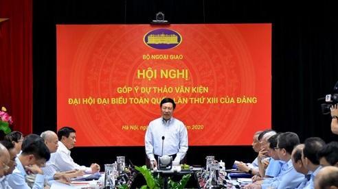 Bộ Ngoại giao tổ chức Hội nghị góp ý dự thảo văn kiện Đại hội đại biểu toàn quốc lần thứ XIII của Đảng