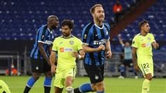 Inter Milan giành chiến thắng trong cuộc đối đầu 'ngựa ô' để vào tứ kết Europa League