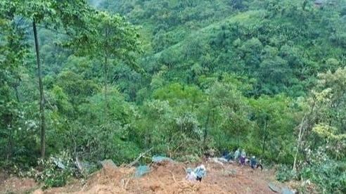 Sạt lở đất ở Lào Cai khiến 2 vợ chồng tử vong