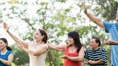 Sống khỏe, năng động nhờ khối cơ
