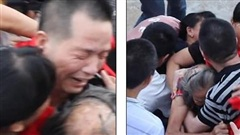 Nước mắt người đàn ông trong ngày đoàn tụ với người thân sau 27 năm chịu án tù oan
