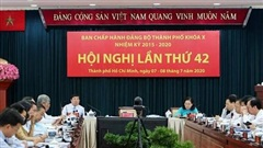 Hội nghị lần thứ 42 Ban Chấp hành Đảng bộ Thành phố khóa X