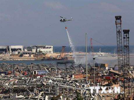 Tổng thống Mỹ nhận định vụ nổ kinh hoàng ở Beirut có thể do tấn công