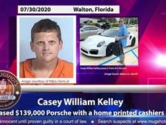 'Siêu lừa' Mỹ mua xe sang Porsche và đồng hồ Rolex bằng séc giả