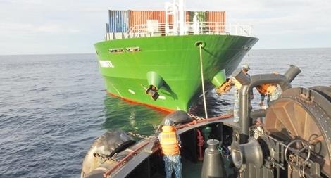 Lữ đoàn tàu ngầm 189 cứu nạn - cứu hộ tàu vận tải biển quốc tịch Mông Cổ