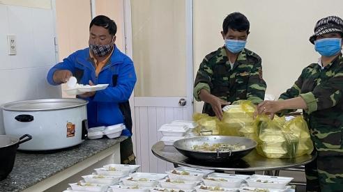 Cận cảnh Khu cách ly tập trung ở Bộ Chỉ huy Quân sự tỉnh Lâm Đồng