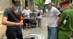 Sợ lộ ma túy, đôi nam nữ giả vờ tranh cãi với Cảnh sát 141