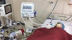 Bệnh nhân 418 âm tính SASR-CoV-2 lần 1 nhưng đang nguy kịch