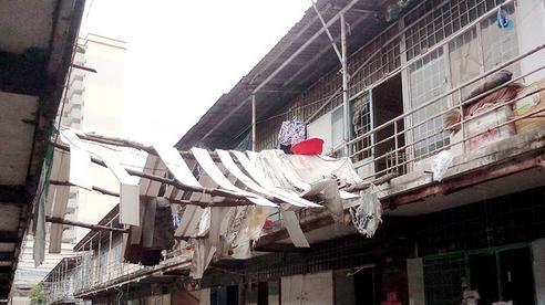 Cận cảnh nơi ở tồi tàn tại khu tạm cư 'ổ chuột' của người dân Thủ Thiêm