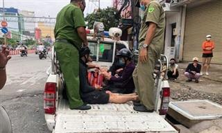 Đột kích nhà nghỉ ở Sài Gòn, phát hiện hàng chục dân chơi phê ma túy