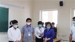 Kiểm tra công tác chuẩn bị tổ chức kỳ thi tốt nghiệp THPT năm 2020 tại quận Long Biên