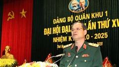 Trung tướng Dương Đình Thông được bầu giữ chức Bí thư Đảng ủy Quân khu 1