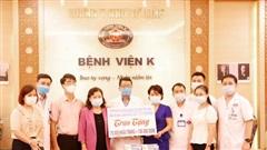 Ủng hộ bệnh nhân ung thư 100.000 khẩu trang phòng chống Covid-19