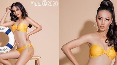 Xuất hiện đả nữ siêu gợi cảm tại Hoa hậu Việt Nam 2020, hóa ra lại là trò cưng của chị đại Võ Hoàng Yến