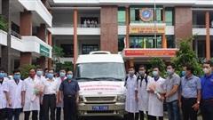 Viện Sốt rét - Ký sinh trùng, côn trùng Quy Nhơn cử 10 cán bộ hỗ trợ Quảng Nam