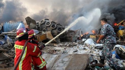 Vụ nổ Beirut: Có thể do sự can thiệp từ bên ngoài