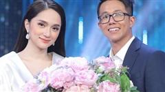Hương Giang trao hoa cho CEO người Singapore trong tập 14 'Người ấy là ai'