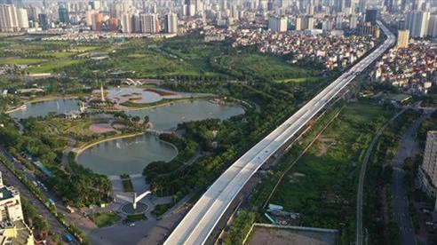 Đề nghị bàn giao cầu cạn Vành đai 3, đoạn Mai Dịch - Nam Thăng Long cho Hà Nội