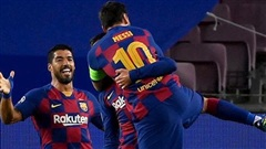 'Bí mật' giúp Messi thi đấu thăng hoa trước Napoli