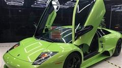 Lamborghini Murcielago xanh cốm độc nhất Việt Nam về tay doanh nhân Sài Gòn: 'Bộ cánh' hồi ở Hải Phòng được lột bỏ