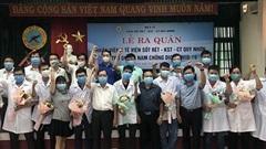 10 bác sĩ, điều dưỡng Bình Định vào Quảng Nam 'chia lửa'